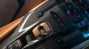Lamborghini Sian - centre console