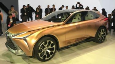 Lexus LF-1 Limitless - show front quarter