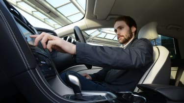 Ford Mondeo Vignale road trip - Johnny interior