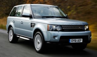 Range Rover Sport front tracking