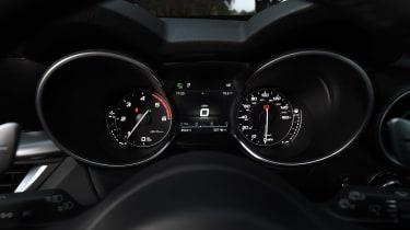 Alfa Romeo Stelvio - dials