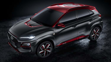 Hyundai Kona Iron Man Edition - top