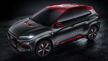 Hyundai Kona Iron Man Edition - top