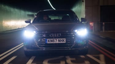 Audi A8 - full front action