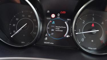 Jaguar E-Pace - speedo