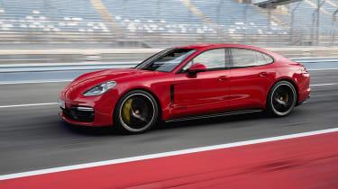New 2018 Porsche Panamera GTS tracking