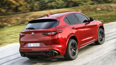 Alfa Romeo Stelvio Quadrifoglio rear