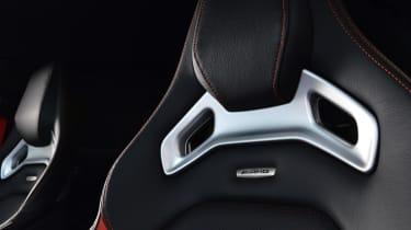 Mercedes A45 AMG seat detail