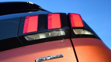 Peugeot 3008 - rear light detail