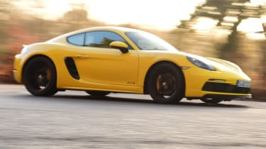 New Porsche Cayman GTS review - side