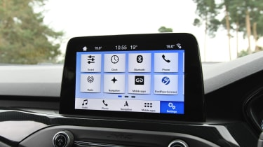 Ford Focus ST - screen