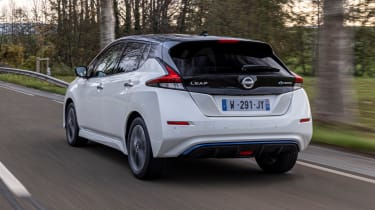 Nissan Leaf10 - rear tracking
