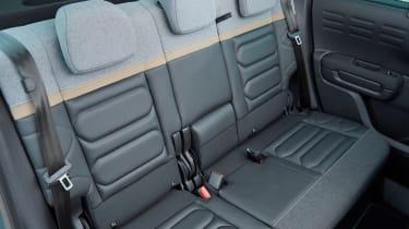 Citroen C3 Aircross facelift - rear seats