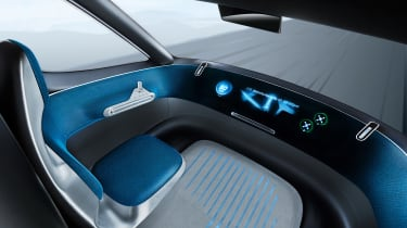 Mercedes Vision Van - official interior