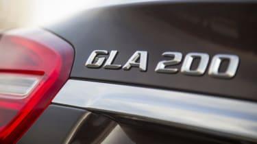 Mercedes GLA - GLA 200 badge