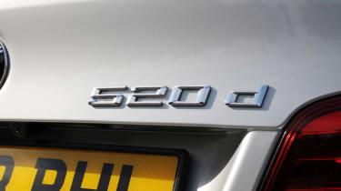 BMW 520d badge