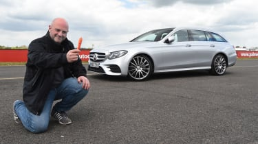 Mercedes E-Class Estate long term - first report header