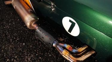 Caterham R600 exhaust detail