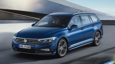 Volkswagen Passat Estate - front action