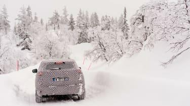 Peugeot 3008 Advanced Grip Control test rear snow