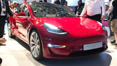 Tesla Model 3 Performance - Paris front
