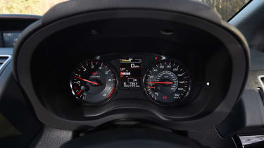 Subaru WRX STi Final Edition - speedo