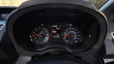 Subaru WRX STi Final Edition - speedo
