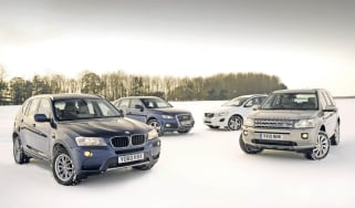 New BMW X3 vs. rivals