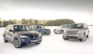 New BMW X3 vs. rivals