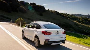 BMW X4 M40i - rear tracking