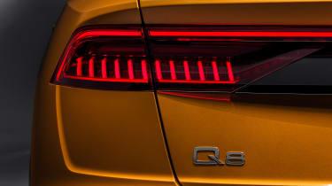 New Audi Q8 - taillight