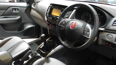 Fiat Fullback pick-up - show interior