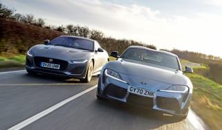 Toyota Supra vs Jaguar F-Type