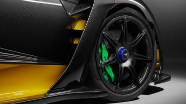 McLaren Senna Carbon Theme bespoke - wheel