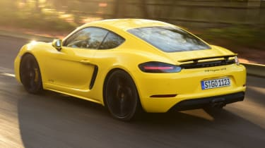 New Porsche Cayman GTS review - rear