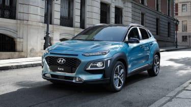 Hyundai Kona - front static
