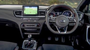 Kia Ceed GT - dash