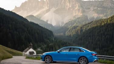 2019 Audi S4 saloon side
