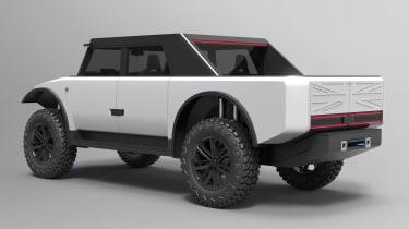 Fering Pioneer 4x4 - rear static
