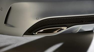 Mercedes C-Class 2014 studio exhaust