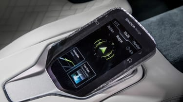 Skoda VisionS concept - infotainment console 2