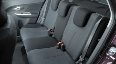 Toyota Urban Cruiser rear seats