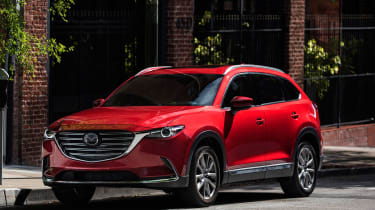Mazda CX-9 2016 - front red