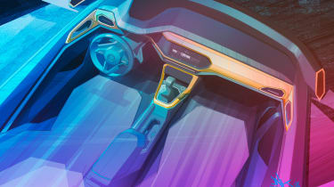 Volkswagen T-Cross - teaser interior