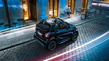 Smart EQ ForTwo Cabrio - rear