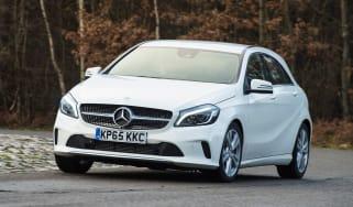 Mercedes A200d front