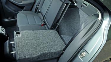 VW Jetta folding seats