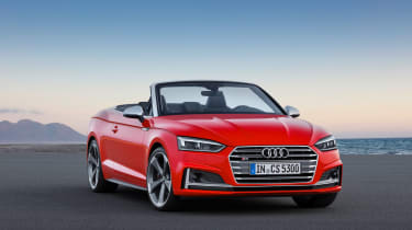 New Audi S5 Cabriolet 2017