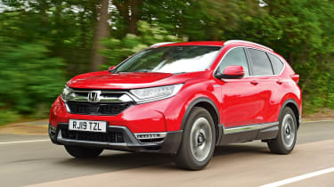 Honda CR-V: long-term test - front tracking