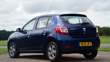 Dacia Sandero - rear static